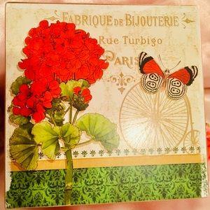 """Other - ADORABLE FRAME BOX PARIS """"FABRIQUE DE BIJOUTERIE"""""""